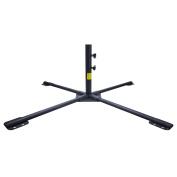 "Umbrella Stand, BESTEK 49.2"" Rust Free Umbrella Base Tempered Iron Patio Umbrella Stand, Cross Design"