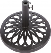 44cm Cast Iron Patio Umbrella Base by Trademark Innovations