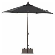 Patio Umbrella - TrueShade Plus Market Umbrella Garden Parasol with Push Button Tilt and Crank Includes Storage Cover - Freestanding or Table Hole. - 2.1m Diameter Aruba