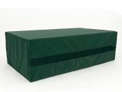 CoverMates – Storage Bench Cover – 50D x 28D x 21H – Classic Collection – 2 YR Warranty – Year Around Protection - Green