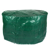 4 Seater Round Patio Set Cover Green Garden Protection Waterproof Cover
