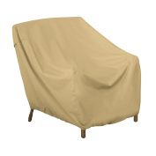Classic Accessories Terrazzo Patio Lounge Chair Cover - All Weather Protection Outdoor Cover