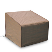 Abba Patio Outdoor/Porch Single Lounge Chair Cover, Water proof, All Weather Protection, Tan Colour