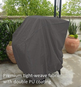Premium Tight Weave Stacking Chair Cover - fits 4 to 8 Chairs in Grey