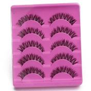 False Eyelashes eye lashes fake eyelashes false eyelashes Fake Eyelash Soft Long Handmade Makeup Eye Lash