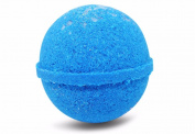 Bath Bomb Fizzle Crush Bath Bomb, Enjoy the Beach from your Tub, 180ml, Blue