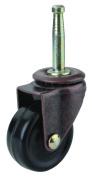 Prosource JC-D04-PS Swivel Casters, Medium-Duty - Rubber, 4.1cm .