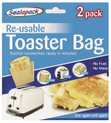 Sealapack Re-usable Toaster Bags Pack 2