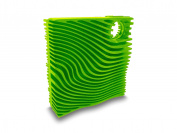 Fusionbrands 8113-GR Silicone Veggie and Mushroom Brush, Green