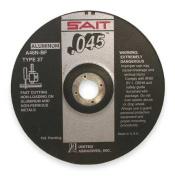 UNITED ABRASIVES-SAIT 22360 Abrsv Cut Whl, 15cm D, 0.1cm T, 2.2cm AH