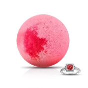 Princess Ring Bomb - XL Bath Bomb with Ring Smells like Love Spell