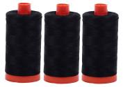 AURIFIL Cotton Mako 50wt 1300m 3-Pack