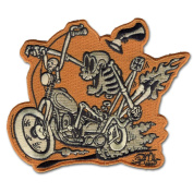 Retro-a-go-go Shawn Dickinson Bone Daddy Patch Embroidered Iron On Patch