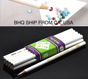 10pcs Rhinestone Pickup Pencils Tools for Nail Art, Scrapbooking