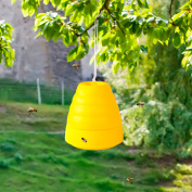 Beehive Wasp Trap Yellow by Pure Garden