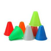 bargain house slalom cones - 5pcs 7.6cm cones for Slalom Skate Roller-Skating - Green