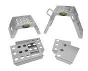 Motorsport Products 99-2011 Silver Mini Moto Starting Block - Pair