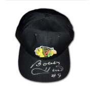 Autographed Bobby Hull Black Hat - Chicago Blackhawks - Autographed NHL Hats