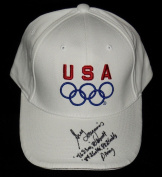 Greg Louganis Autographed USA Olympic Hat
