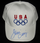 Jim Criag Autographed USA Olympic Hat