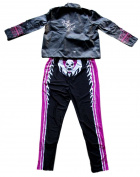 Bret The Hitman Hart Signed WWE Jacket with Full Costume JSA ITP