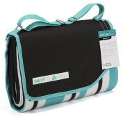 Savvy Glamping Large Waterproof Outdoor Picnic Blanket w/ Carry Tote Strap & Pocket (1.5m x 2m) - Thick & Comfortable Beach, Leisure, Travel, Concert or Camping Mat