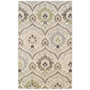 Augusta 1.2m x 1.8m Area Rug, Contemporary Living Room & Bedroom Area Rug, Anti-Static and Water-Repellent for Residential or Commercial Use, 1.2m By 1.8m