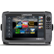 Lowrance 000-11790-001 HDS-9 GEN3 Insight Fishfinder/Chartplotter with CHIRP/StructureScan Sonar and 83/200KHz Transducer