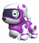 Tekno Babies Purple Puppy