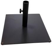 Tropishade Steel Plate Umbrella Base, 16kg, Black