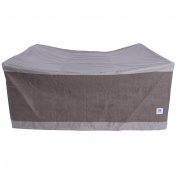 Duck Covers Elegant Square Patio Table with Chairs Cover, 190cm L x 190cm W x 80cm H