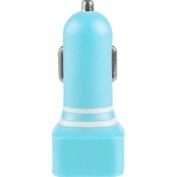Vivitar 2.1 Amp Dual Usb Car Charger-blue