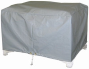 Protective Covers Weatherproof Ottoman Cover, Large, Grey