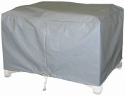 Protective Covers Weatherproof Ottoman Cover, Small, Grey