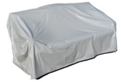 Protective Covers Weatherproof 2 Seat Wicker/Rattan Sofa Cover, X Large, Grey