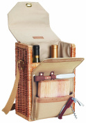 Picnic Time 'Corsica' Insulated Wine Basket with Wine and Cheese Accessories
