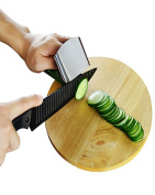 Stainless Steel Hand Guard Finger Protector Safe Chop Slice 1 Rings easy use Knife Kitchen Tool