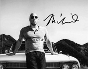 LIMITED EDITION VIN DIESEL SIGNED PHOTOGRAPH + CERT PRINTED AUTOGRAPH