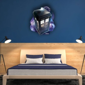 "DOCTOR WHO ""Tardis Time And Relative Dimension in Space"" Wall Mounted Cardboard Cut Out Poster, Multi-Colour"
