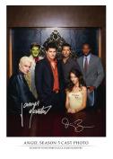 Angel - David Boreanaz & James Marsters Autograph Signed 8 x 10 Photo