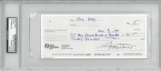 Willie Mays Signed Authentic Autographed Cheque Slabbed PSA/DNA #83913466