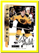 1996-97 Be A Player AUTOGRAPH #72 Troy Mallette BOSTON BRUINS