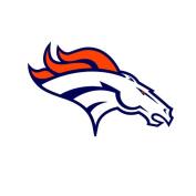 Broncos Sport team Decal Sticker 7 x 10