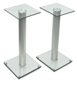Mount-It! Two Speaker Floor Stands for Home Theatres and Entertainment Centres, 10kg Capacity