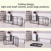 Twin Size Metal Folding Platform Bed Frame Base Mattress Foundation,Black LEO