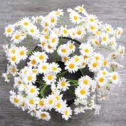 AmyHomie Artificial Flowers, Silk Daisy, Artificial Gerber Daisy for Home Decoration, Artificial Daisy for Wedding Decoration