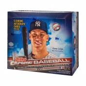 2017 Topps Chrome Baseball HTA Hobby Jumbo Box