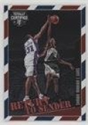Shawn Marion (Basketball Card) 2016-17 Panini Totally Certified - Return to Sender #12