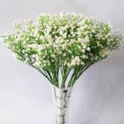 YSBER 10Pcs Baby Breath/Gypsophila Artificial Fake Silk Plants Wedding Party Decoration Real Touch Flowers DIY Home Garden