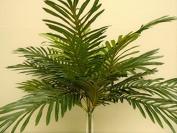Palm Bush 24 Leaves Artificial Silk 60cm Plant Greenery GB5602GR